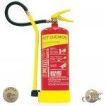 6 Litre Wet Chemical Fire Extinguisher - Premium Range