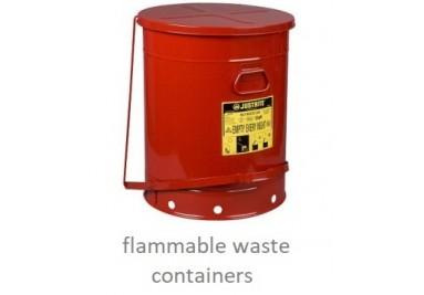 Flammable Waste Bins